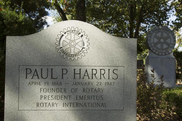 Paul-Harris-memorial
